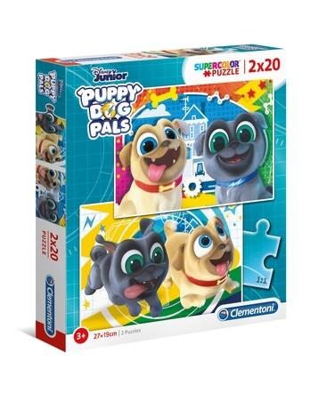 PUZZLE Bingo & Rolly 2x20PCS - CLEMENTONI