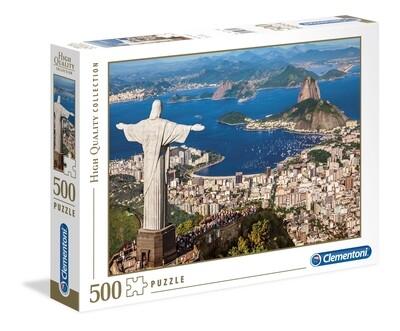 PUZZLE 500 HQ RIO DE JANEIRO - CLEMENTONI