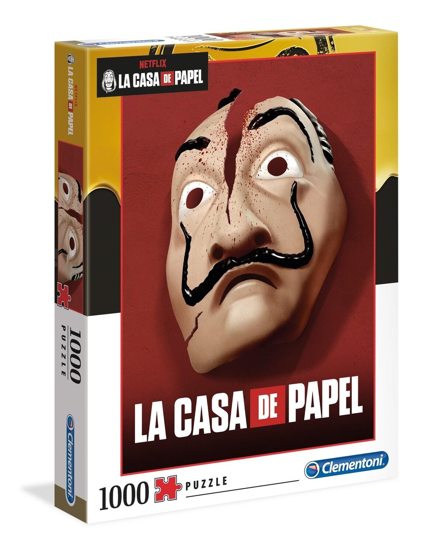 PUZZLE 1000PCS La Casa de Papel - CLEMENTONI