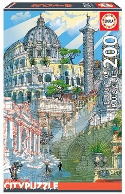PUZZLE 200PCS ROMA - EDUCA
