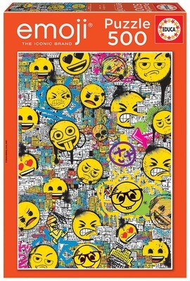 PUZZLE 500PCS Emoji Graffiti - EDUCA
