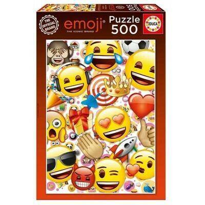 PUZZLE 500PCS Emoji - EDUCA