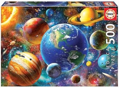 PUZZLE 500PCS Sistema Solar - EDUCA