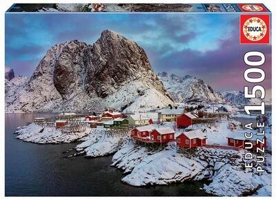 PUZZLE 1500PCS Ilhas Lofoten - Noruega - EDUCA