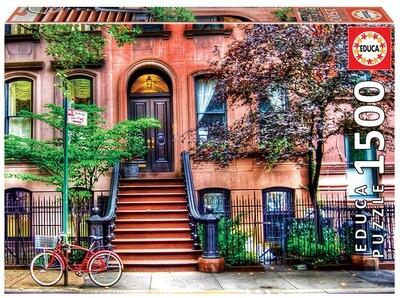 PUZZLE 1500PCS Greenwich Village - Nova Iorque - EDUCA