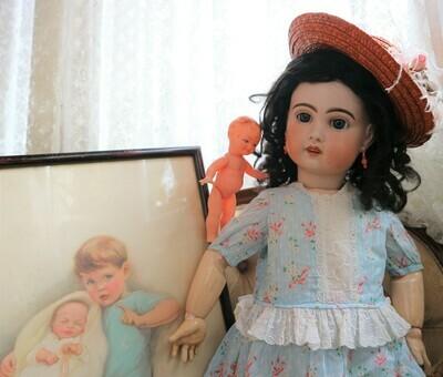 Muñeca JUMEAU de porcelana 10