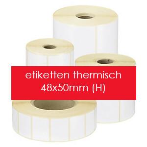 Labelprinterstickers (enkel) thermo top (H)