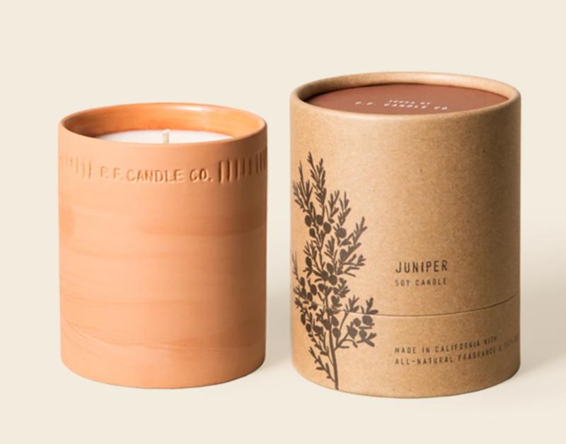 Juniper 8 oz. Soy Terra Candle