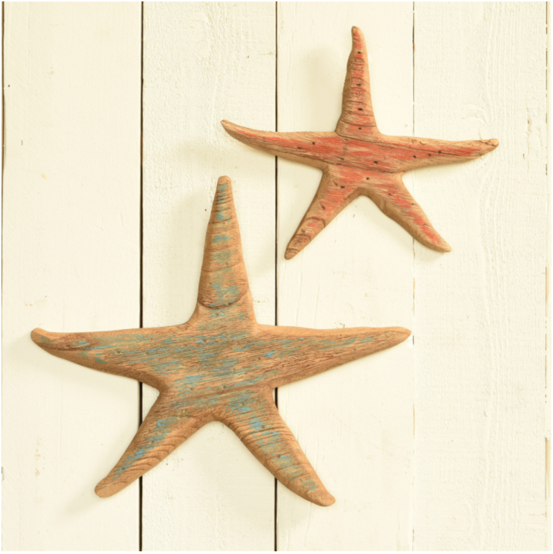 Recycled Starfish - Blue