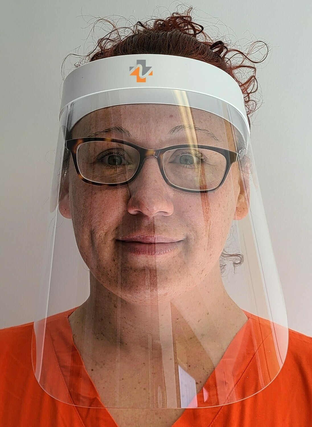 Reusable Face Shield with reinforced headband - Pack of 10