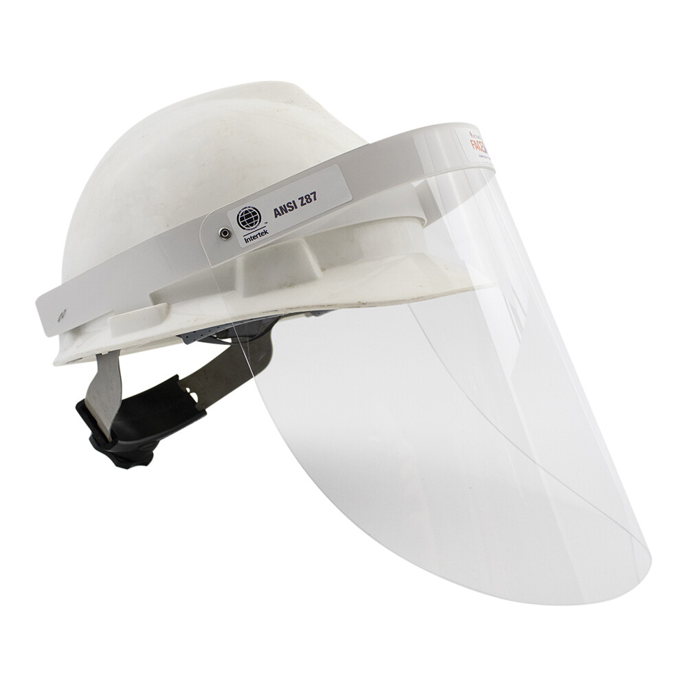 Reusable Face Shield for Hard Hats - Pack of 1