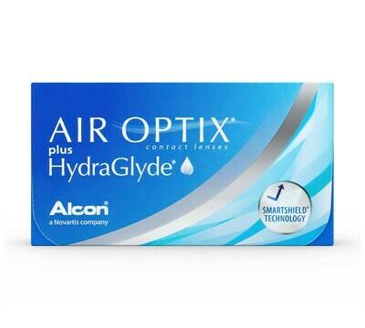 Air Optix plus HydraGlyde (3 copë)