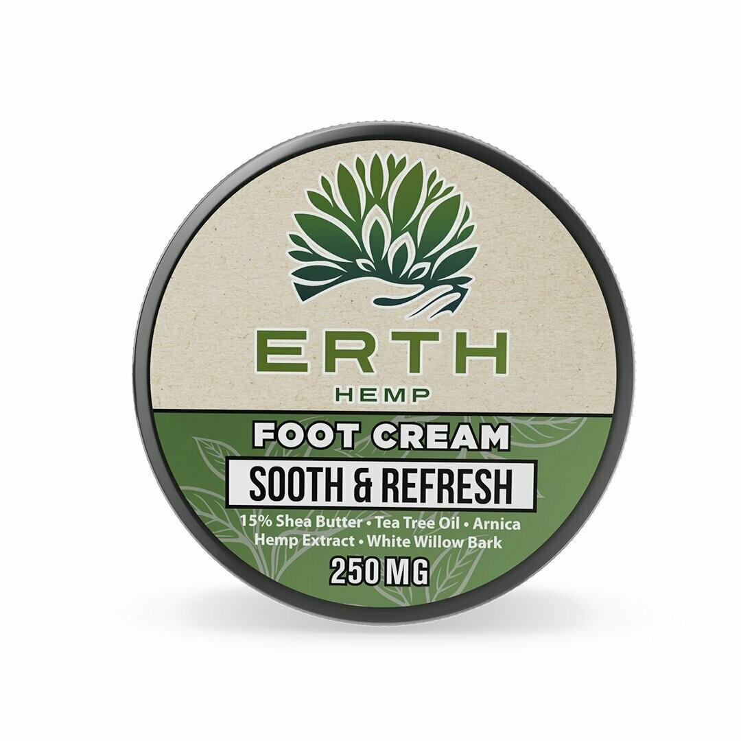 ERTH Hemp Foot Cream - 250mg