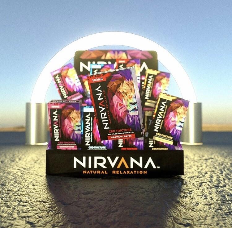 Nirvana Broad Spectrum Tinctures