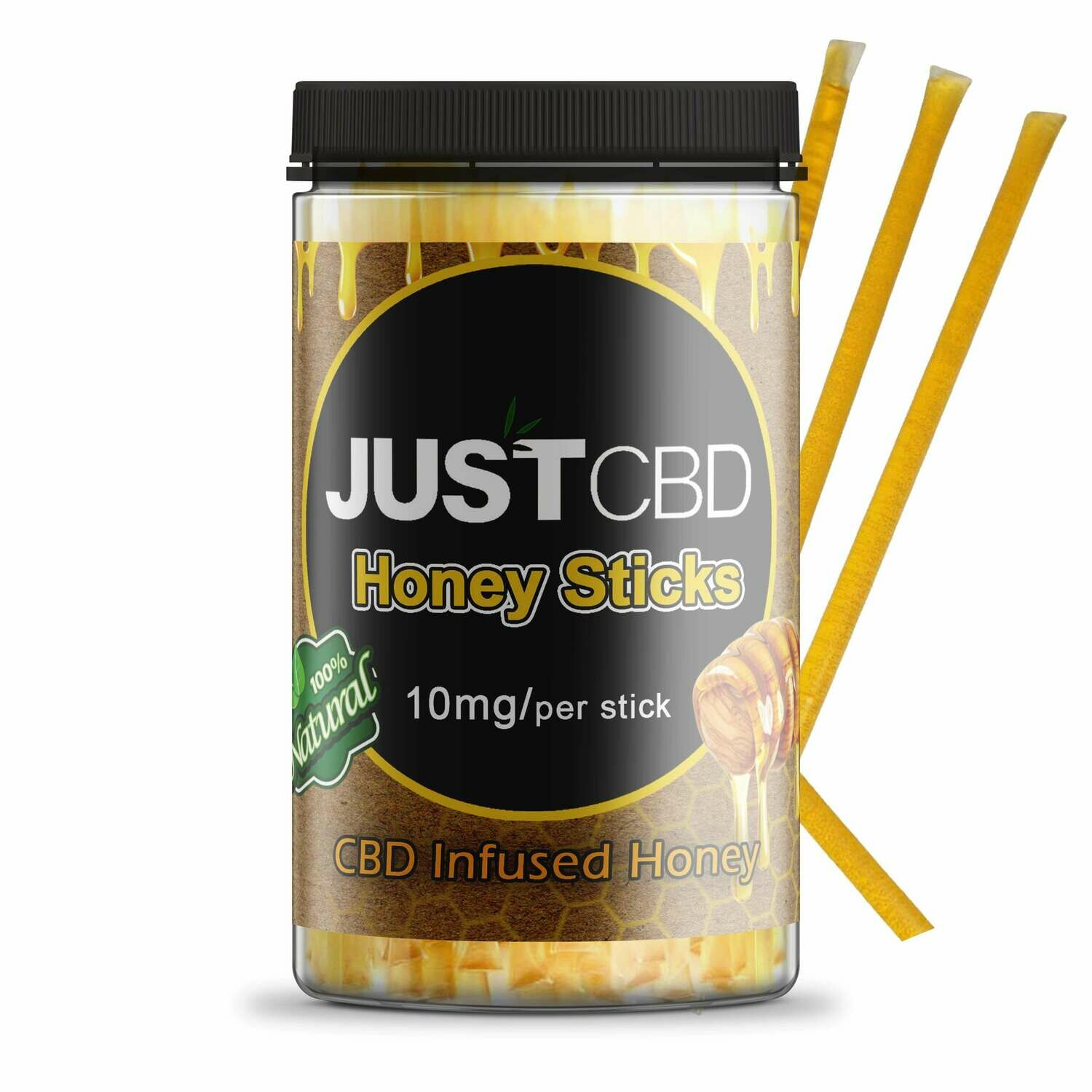 JustCBD Honey Sticks - Original & Cinnamon