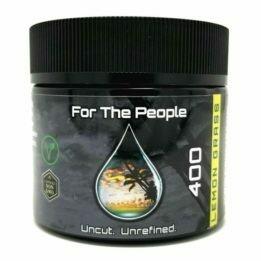 CBD For The People Salve (2oz) 400mg & 600mg - Lemongrass & Tea Tree