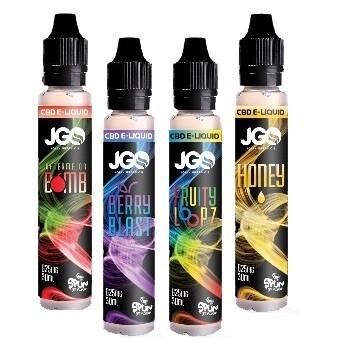 JGO CBD Vape Liquids - 625mg