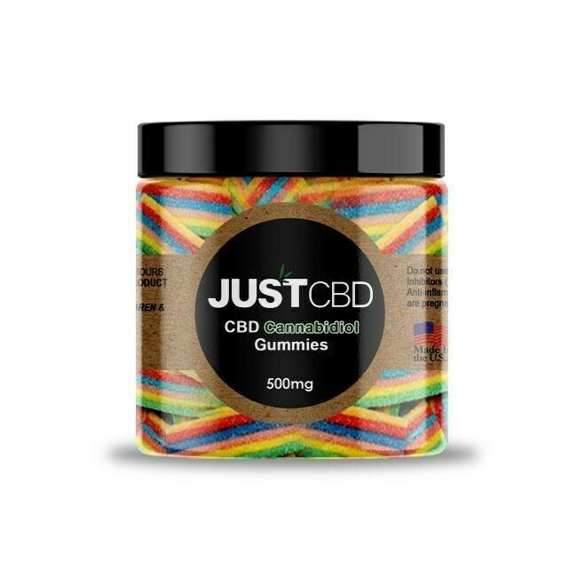 JustCBD Rainbow Ribbons (500mg)