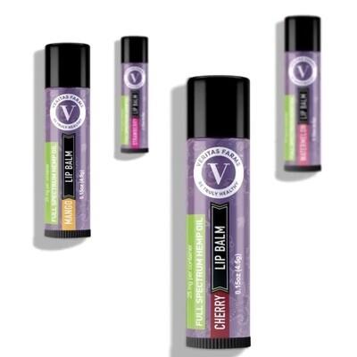 Verita's Farms Lip Balm - 25mg