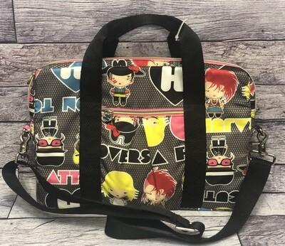 HARAJUKU LOVERS by Gwen Stefani   Illustrated Padded Laptop Shoulder Bag Case