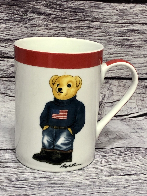 2013 RALPH LAUREN Polo Bear Collectors Coffee Mug
