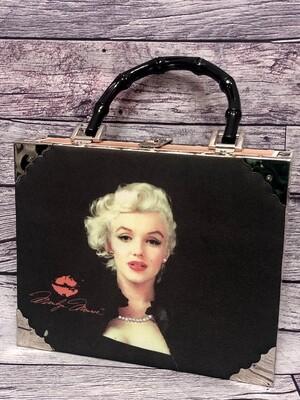 ASHLEY M  Marilyn Monroe Cigar Box Handbag