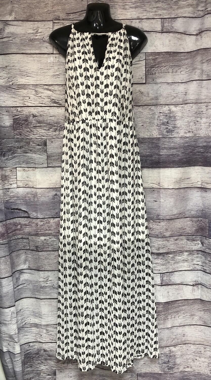 TORRID Black & White Print Maxi Dress size 3