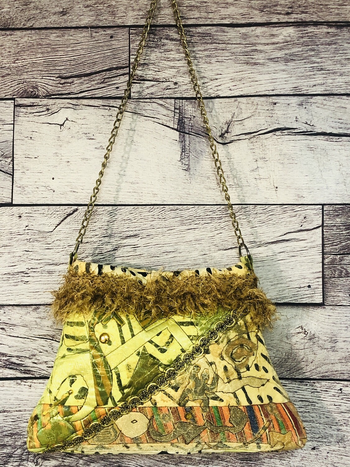 ETHNIC ABSTRACT Handcrafted SHOULDER BAG