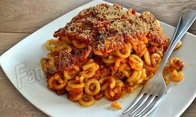 Anelletti alla Palermitana in Sicilian Beef and aubergine Ragu' T/A 350g c.