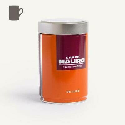 Caffe' Mauro De Luxe Ground Coffee in Can 250g