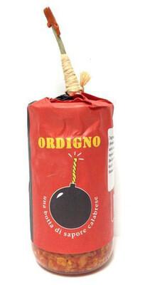 Ordigno Spicy Spread With Aubergine, Chilli And Sun-dried Tom 200g