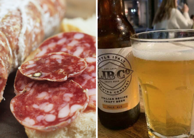 Selection of Regional Salami for 2 People & Libco Pale Ale Beer 6 PACK