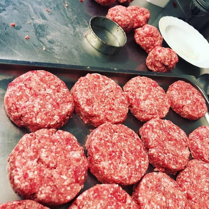 2 Stück Burger Patties