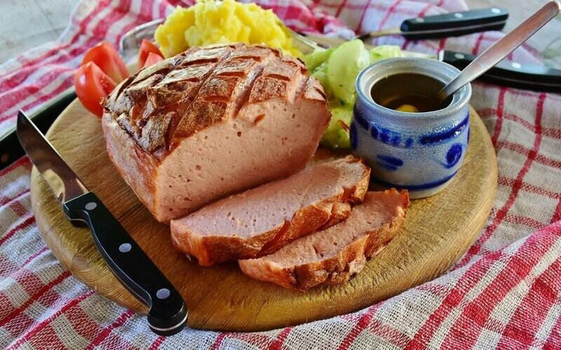 Leberkäse mit Emmentaler Käse 1kg