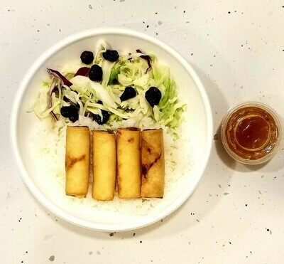 NEW! PORK LUMPIA RICEBOWL