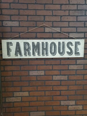 Farmhouse Sign