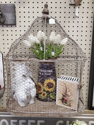 Wall Mount Bird Cage