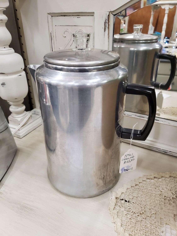 Purculator Coffee Pot