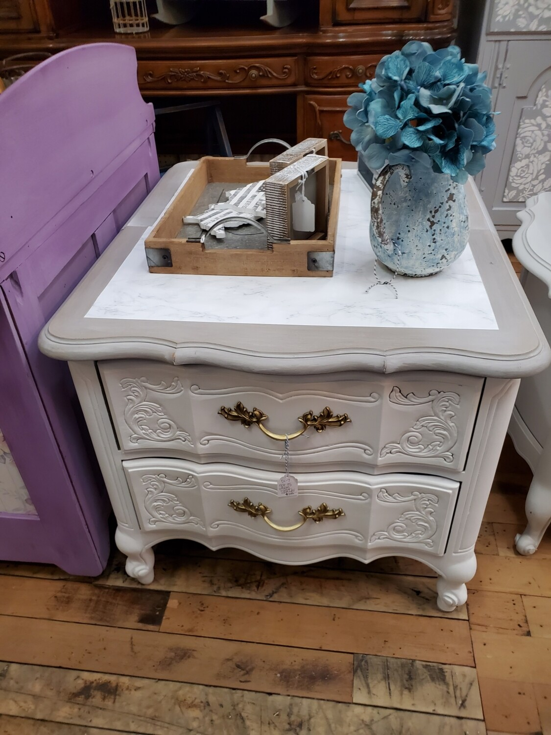 Side Table Set of 2