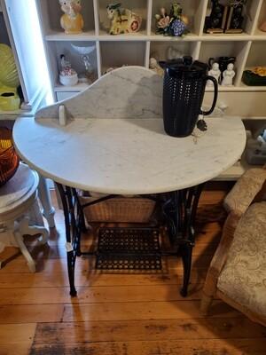 Vintage Repurposed Sewing Stand