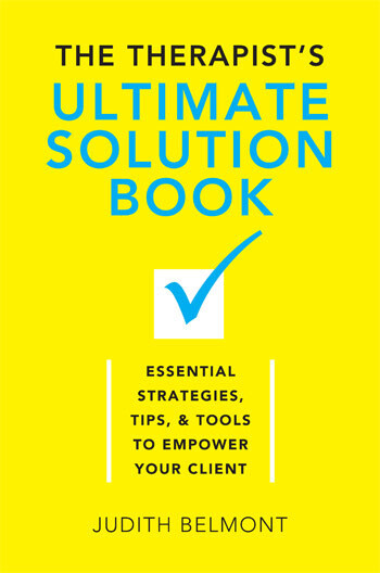 The Therapist's Ultimate Solution Book - Special Price