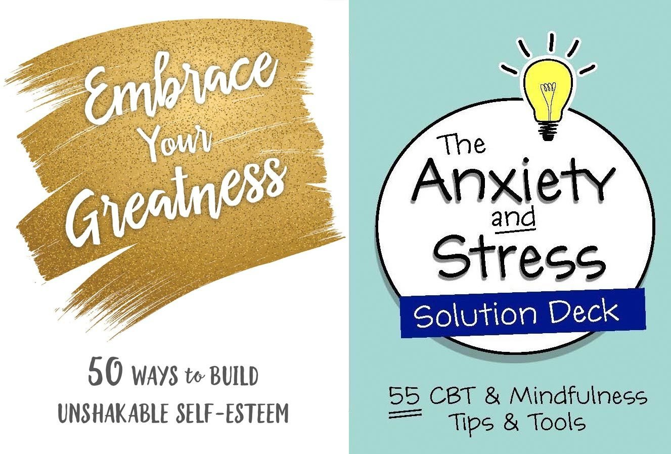 Embrace Your Greatness and The Anxiety and Stress Solution Deck