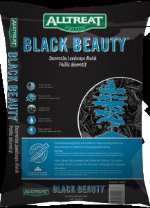 BLACK BEAUTY MULCH - 2 CU FT BAG