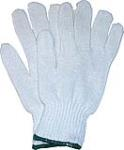 DOZEN (L) KNITTED COTTON GLOVES