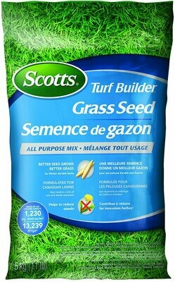 SCOTTS ALL PURPOSE GRASS SEED 5KG