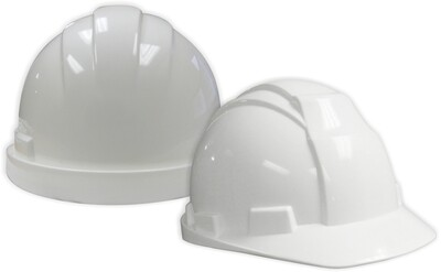 WHITE HARD HAT CSA