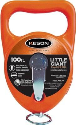 KEESON LITTLE GIANT 100' CHALK LINE REEL