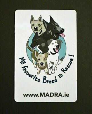 MADRA Fridge Magnet