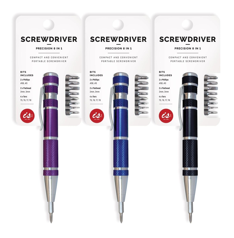 8 in 1 Screwdriver