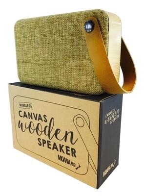 Canvas Wooden Speaker